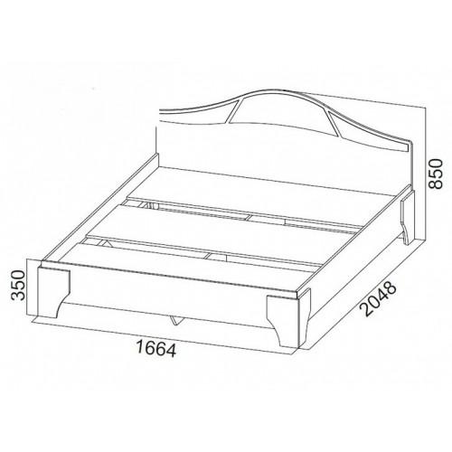Кресло-качалка, Модель 2, ткань мальта 17