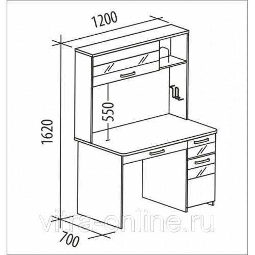Шкаф-Купе (009) 1,5м венге/дуб