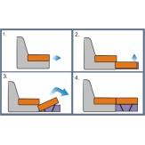 Стол туалетный Лагуна-2