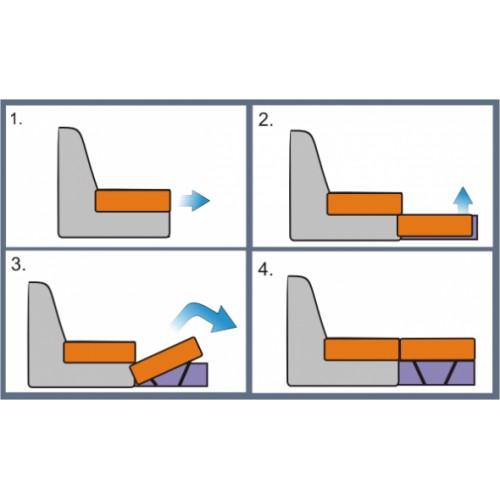 Кровать детская КАЛИБРИ