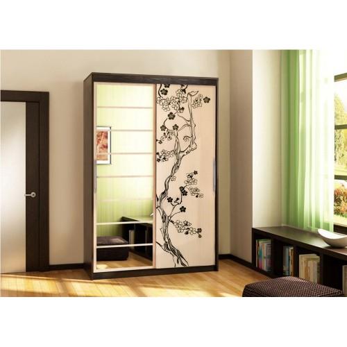 Шкаф-стеллаж с дверкой СИТИ 6-9414