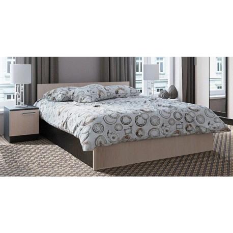 Кровать Эдем-5 1400мм Венге/Дуб