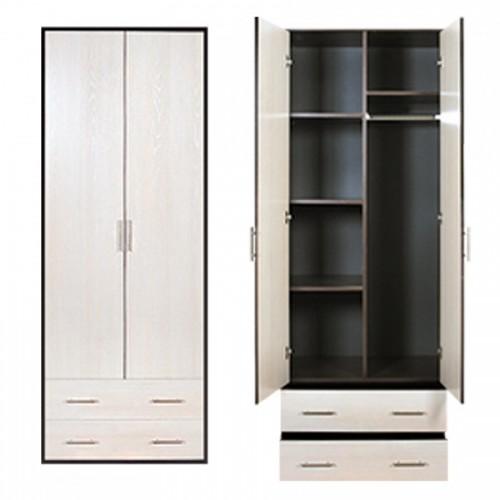 """Шкаф 2-х дверный """"ВИЗИТ-6"""" без зеркала"""