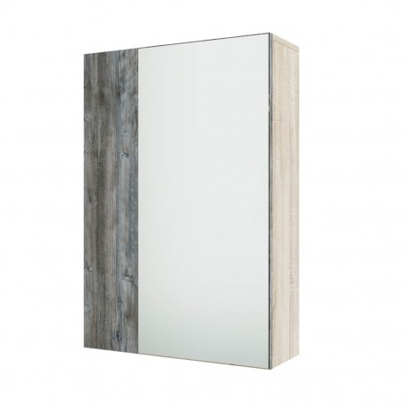 Шкаф навесной Визит-1 с зеркалом