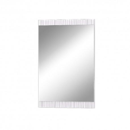 Прихожая МИШЕЛЬ Зеркало настенное венге/белый страйп
