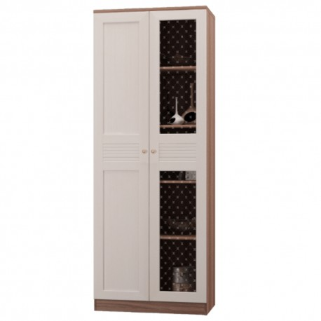 Шкаф для книг 2 дверный ЛЕСТЕР