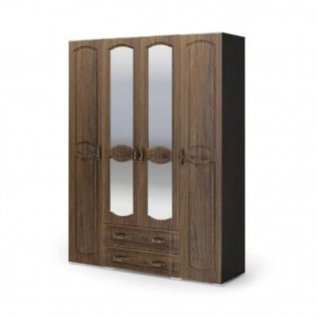 Шкаф 4-х дверный  МЕДИНА