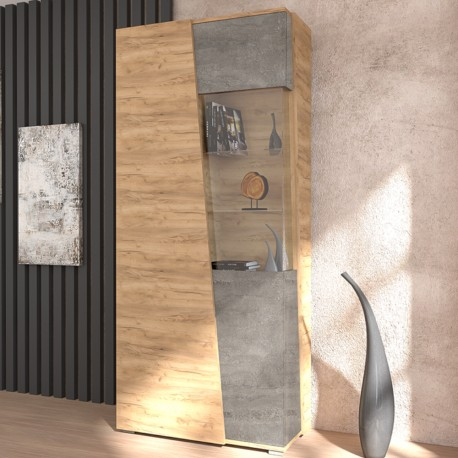 Шкаф со стеклом АЛЛЕГРО №10